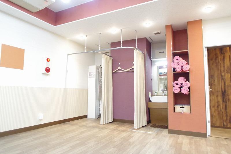 御茶ノ水スタジオ 着替えスペース