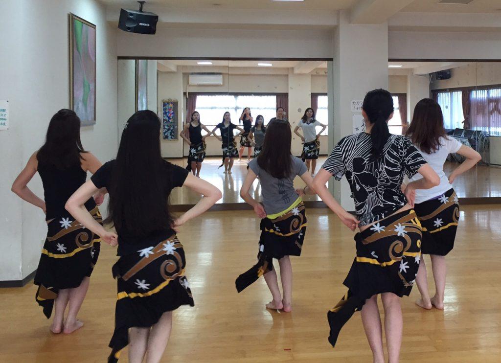 神保町 御茶ノ水 タヒチアンダンス フラダンス教室
